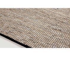 Alfombra de cuero y algodón Ibia - 160x230cm