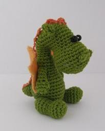 Crochet dragon. So cute!!