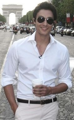 Daniel Henney. guys are so hot in white dress shirts!