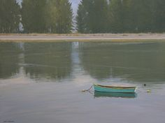 Bolinas Lagoon by Saim Caglayan was selected as a Finalist in the December 2011 RayMar Art Painting Competition.