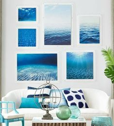 We literally could not be happier that Summer has arrived! Bring on the sunshine, beach days, and piña coladas! Here are some of our favorite beach house decor ideas of the season. #DressingYourHome