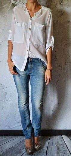 Sheer Shirt by Mosquito