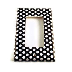 Rocker Switch Cover Wall Decor Switchplate Switch Plate in  Polka Dots Rock (207R)