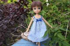 Make Custom Doll Clothes and Shoes For Any Doll: Sew a Gathered Sundress From a Fabric Rectangle