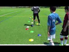 Fussballtraining: Schnelle Füsse - Schnelligkeit - Kondition - YouTube