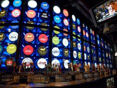 The Pub at the Monte Carlo Hotel in Las Vegas has 131 beers on tap!
