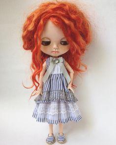 #Blythe #Blythestagram #blythedoll #blythedress #одеждадляблайз #одеждадлякукол #платье #платьедлякуклы #шью #шьюсама #люблюшить