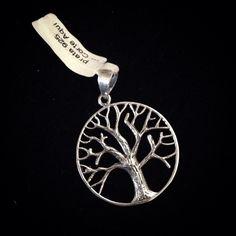 Pingente árvore da vida. Todo em prata 925