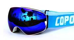 New COPOZZ brand ski goggles double UV400 anti-fog big ski mask glasses skiing men women snow snowboard goggles
