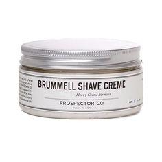 Prospector Co. Brummell Shave Cream