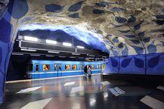 Le più belle stazioni metropolitane nel mondo