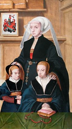 Katharina von Gail and Her Two Daughters