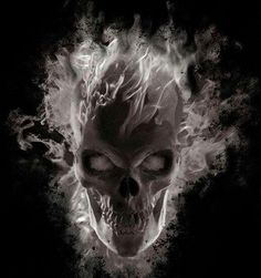 Dark art: Wicked Skull