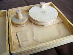 DIY Charkha Spinning Wheel | pieKnits