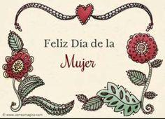 Felíz Día Internacional de la mujer!♀Happy International Women's Day!