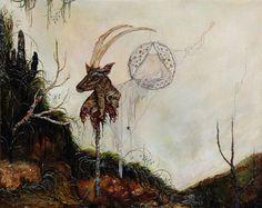 The strange landscapes of painter Anj Smith.