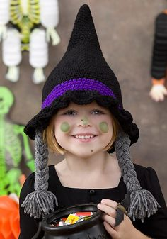 Crochet For Free: Bewitched Hat (Child size)