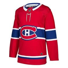 a7021692981 Montreal Canadiens Adidas Nhl Men s Climalite Authentic Team Hockey Jersey   fashion  clothing  shoes