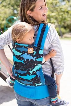 Canvas - Tula release 'Bruce' TULA BABY CARRIER