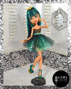 Monster Doll Egyptian Oasis high fashion by HauntCoutureAtelier