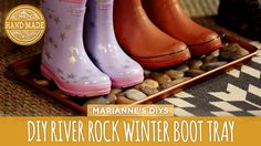 Let's face it: winter weather can be a little grim...not to mention messy. Today, Marianne shows how to make a simple tray for messy boots from a cookie shee...