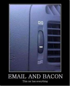 #email and #bacon