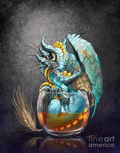 Whiskey Dragon Digital Art by Stanley Morrison
