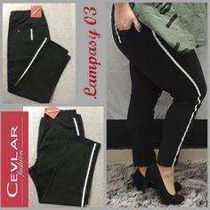 Spodnie z lampasem Cevlar BL03 kolor czarny rozmiar 38 – 40 – 42 - Big Sister Apron, Fit, Fashion, Moda, La Mode, Fasion, Fashion Models, Trendy Fashion, Aprons
