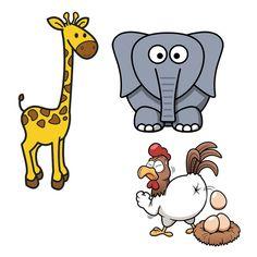 Barzelletta: La giraffa, l'elefante e la gallina