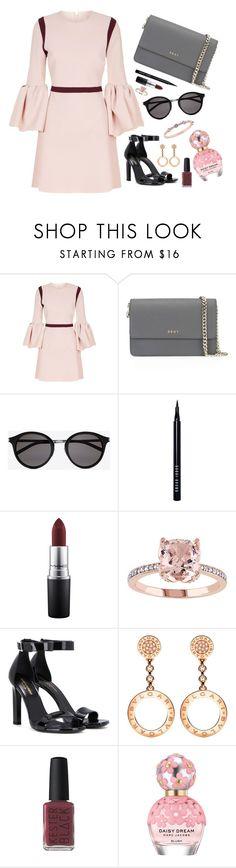 """#19"" by milan-inez on Polyvore featuring Roksanda, DKNY, Yves Saint Laurent, Bobbi Brown Cosmetics, MAC Cosmetics, Bulgari, Kester Black, Marc Jacobs and Givenchy"