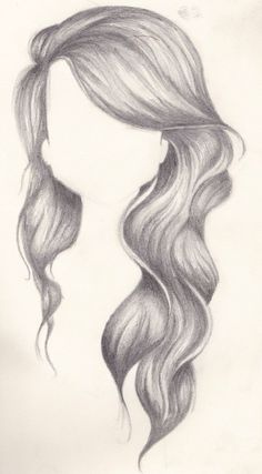 using standard graphite pencils to draw hair art. Black Bedroom Furniture Sets. Home Design Ideas