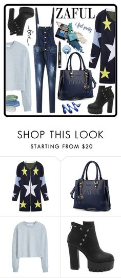 """""""http://www.zaful.com/?lkid=6880"""" by amra-sarajlic ❤ liked on Polyvore featuring MANGO"""