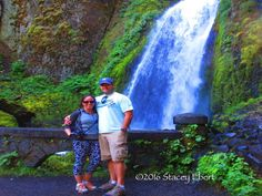 Multnomah Falls. From Through the Eyes of an Educator: Portland and beyond
