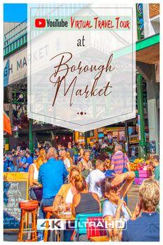 4k London Walking Tour in Borough Market Europe Travel Guide, Travel Tours, Travel Usa, Travel Guides, Travel Info, Budget Travel, Travel Destinations, Virtual Travel, Virtual Tour