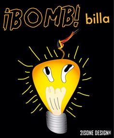 ¡BOMB! billa  http://www.2isone.net/bomb-billa/