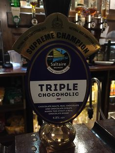Saltire Brewery // Triple Chocoholic // 4.8% ABV