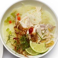 Vietnamese Chicken Pho. Simple and fresh.