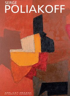 Composition dominante rouge, Serge Poliakoff 1906 – October was a Russian-born French modernist painter belonging to the 'New' Ecole de Paris Tachisme, Abstract Art Images, Abstract Oil, Modern Art, Contemporary Art, Art Moderne, Watercolor Paintings, Abstract Paintings, Art Paintings