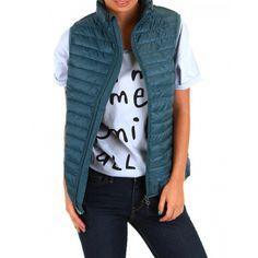 Teal Blue Puffer Vest-STILLWATER SUPPLY CO. - Outerwear - Women