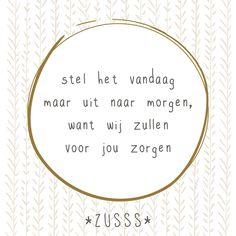 Zusss l Heb je op Moederdag weer goed voor je moeder gezorgd? l http://www.zusss.nl/