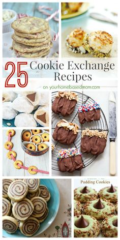 25 Cookie Exchange Recipe on our Homebased Mom