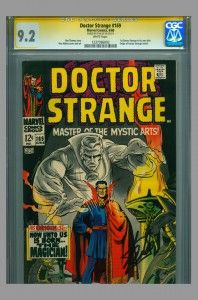 Doctor Strange #169 CGC SS 9.2 Signed by Stan Lee now on www.vaultcollectibles.com. #doctorstrange #stalee #marvelcomics #cgcss