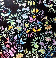 enchanted forest by Johanna Basford.