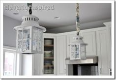 video tutorial on how to install a light fixture @cleverlyinspired