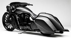 """Here's what Honda have to say about the 2010 Stateline """"Slammer"""" (Bagger):"""