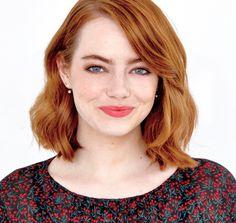 Emma Stone photographed for Deadline.