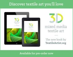 Maggie Grey tells us why computer textile design has featured in her work since day one and about the creation of a well-loved resource for fiber artists. Textiles, Best Blogs, Textile Artists, Wow Products, Art Market, Three Dimensional, Textile Design, Fiber Art, New Books