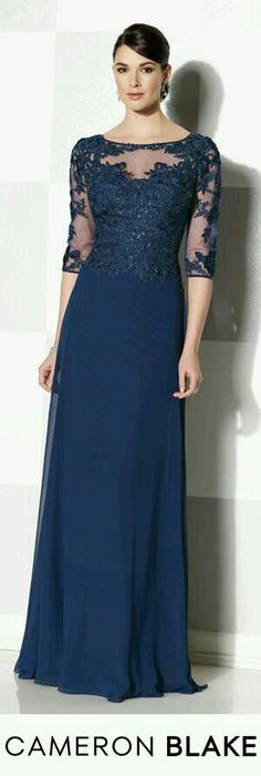 Cameron Blake by Mon Cheri is a classic, refined collection of mother of the bride dress sets, special occasion gowns & ladies dress suits. Mob Dresses, Lace Dresses, Elegant Dresses, Pretty Dresses, Beautiful Dresses, Fashion Dresses, Bridesmaid Dresses, Formal Dresses, Gowns With Sleeves