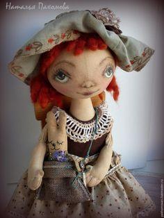 Учимся оживлять текстильную куклу: роспись лица - Ярмарка Мастеров - ручная работа, handmade