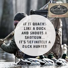 What makes a duck hunter? #waterfowl